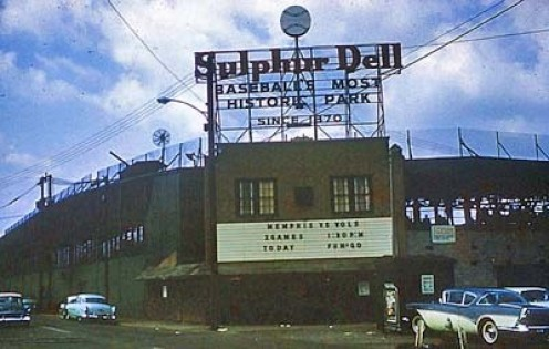 Sulphur Dell before it became a parking lot. =/