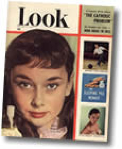 REMEMBER LOOK MAGAZINE? I'D SAY THAT THIS ISSUE IS NOT ONLY OUTDATED, BUT VINTAGE. MAYBE ANTIQUE.