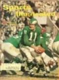 SPORTS ILLUSTRATED WITH COVER OF OLD PHILADELPHIA EAGLES IN ORIGINAL UNIFORMS.