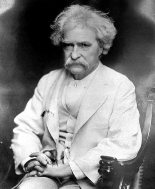 Samuel Clemens a.k.a Mark Twain
