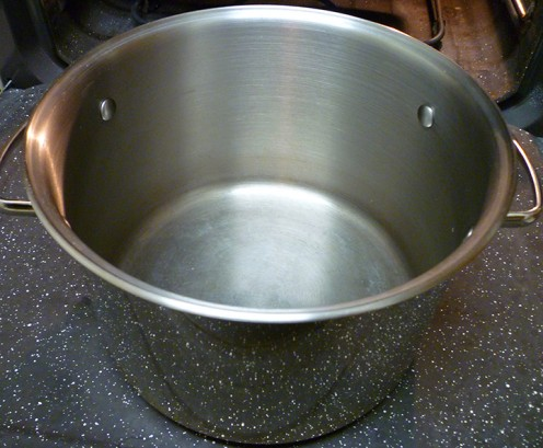 Stainless Steel Stockpot.