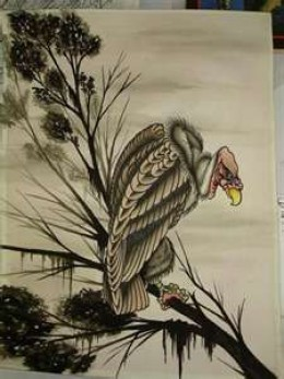 vulture tattoos and vulture tattoo meaning