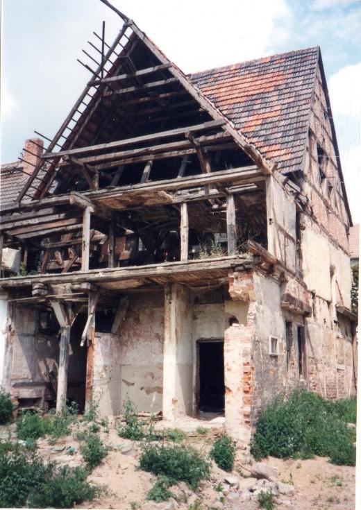 Runied Dwelling, G.D.R. 1990
