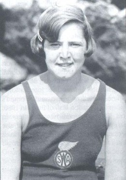 Gertrude Ederle first women swimming champion to swim the English channel