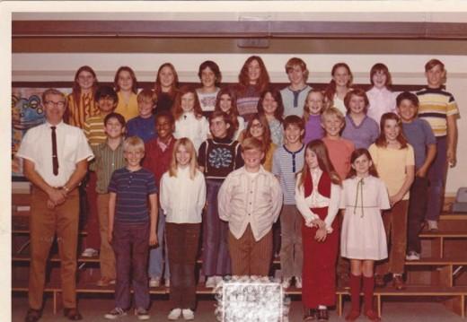 6th grade class pic 1972