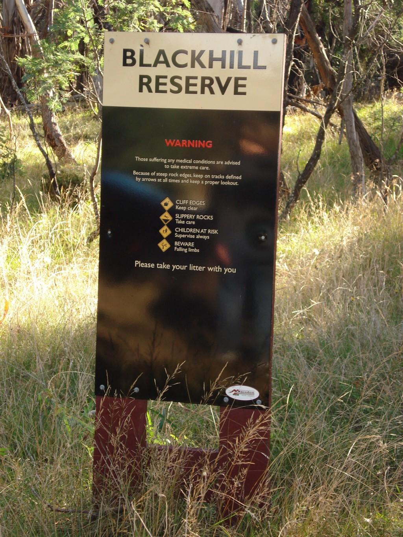 Walking In Blackhill Reserve Near Kyneton Victoria