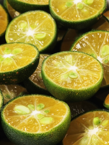 Calamansi Limes provide a finishing touch. Substitute cumquats or Tahitian limes. Image:© zkruger|Shutterstock.com