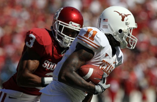 The Red River Rivalry between Texas and Oklahoma didn't quite make the list