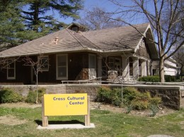 The Cross Cultural Center is another of the campus original buildings.