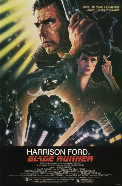 Blade Runner - art by John Alvin