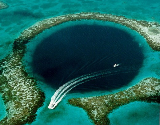 The Great Blue Hole Located in Belize