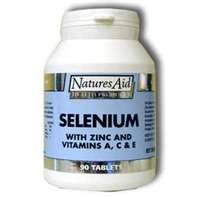 Selenium with added zinc, and Vitamins A, C, & E
