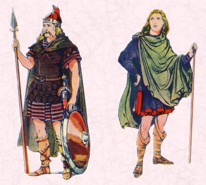 Anglo Saxon Warrior & Man