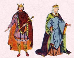 Anglo Saxon King & Queen