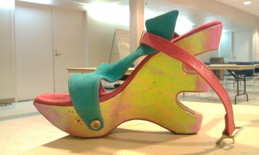 Delish Shoe design my local marvel, Tom Carbone!