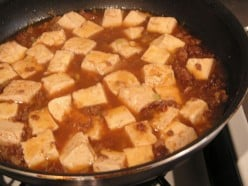 Sichuan Pockmarked Woman's Spiced Bean Curd