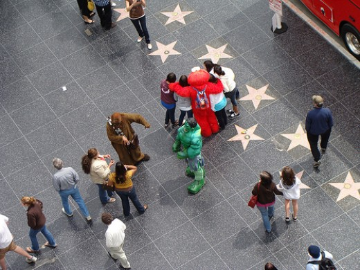 Characters on the Hollywood Walk of Fame