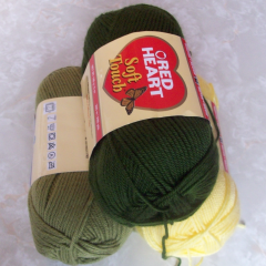 Red Heart Soft Touch Yarn