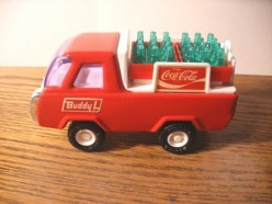 Vintage Coca Cola Toy Trucks