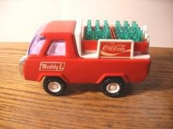 Vintage Coca-Cola Toy Trucks