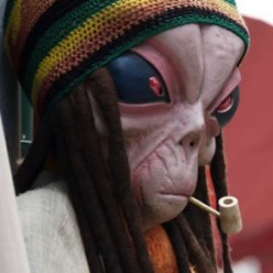 I'm pretty sure extraterrestrials are not Rastafari
