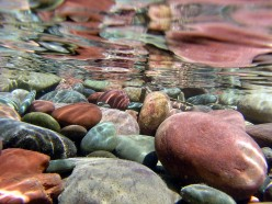 To keep wealth in the home, keep river rocks in the drains.
