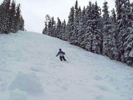 Skiing in the Colorado mountains is an essential part of my right-brained life.