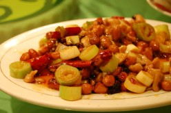Sichuan Kung Pao Chicken (Spicey Chicken with Peanuts)