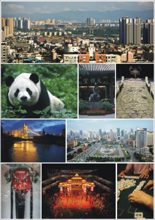 Chengdu - Capital of Sichuan Provence