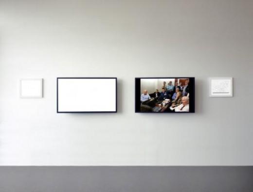 "Alfredo Jarr's installation, ""May 1, 2011."" Photo courtesy of the artist"