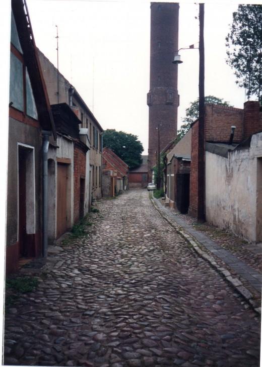 Side Street, G.D.R. 1990
