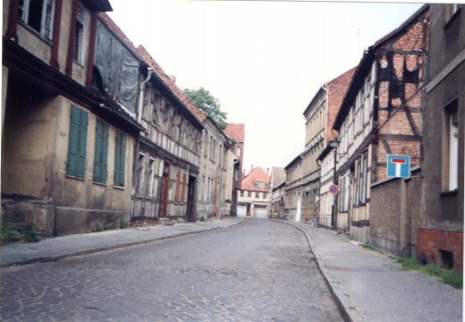Gardelegen Street Scene, June 1990