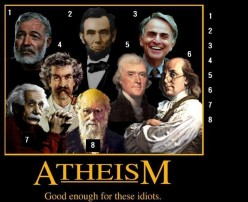 Propaganda of Atheism... Outright Lies and Sacred Cows