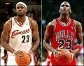 Michael Jordan vs Lebron James stats