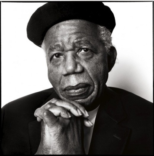 Nigerian Nobel prize winning author Chinua Achebe