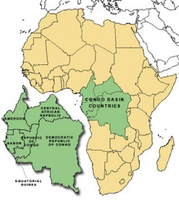 Nations of the Congo basin