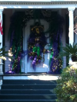 Mardi Gras Door Décor Ideas