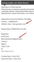 """JustMatrixx@gmail. turns out to be this """"Eliott"""" from Spain, who hosted a bunch of these """"HYIP"""" financial pyramid schemes."""