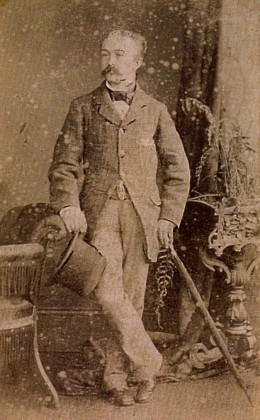 David Allman, my father's maternal grandfather, c. 1880