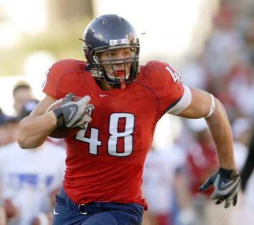 Arizona's Rob Gronkowski was one of the many steals the Patriots scored on draft day 2010.