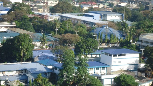 View from my room - Camp Crame, PNP.