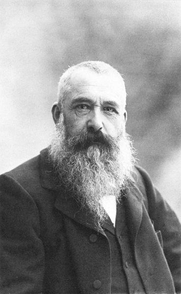 1899, Claude Monet, by Nadar
