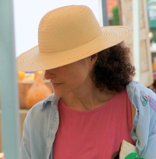 Beautiful Woman at Birmingham Farmer's Market