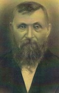 Christian Schultz, my mother's maternal grandfather, c. 1875.