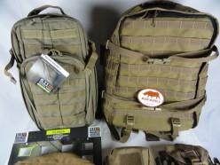 Kifaru Marauder & 5.11 RUSH Moab 10 tactical packs.