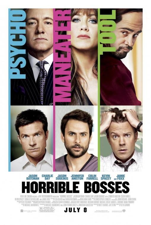 Horrible Bosses Movie Poster