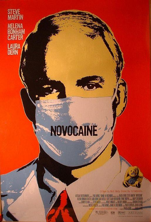Novocaine Movie Poster