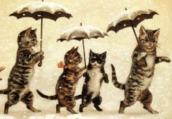 Cat art by Louis Wain