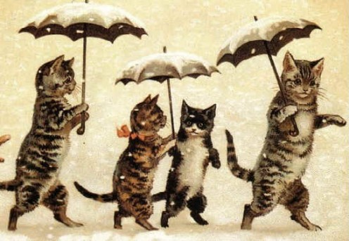 Cat art by Louis Wain