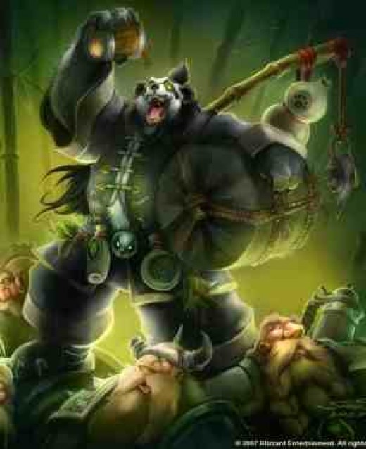 Chen Stormstout, the most famous Brewmaster in Warcraft lore. As you look at this picture, remember that there will be an expansion full of these burly, drunken warriors!